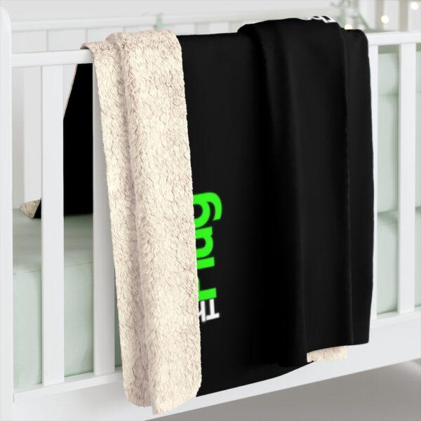 The Plug Fleece Blanket