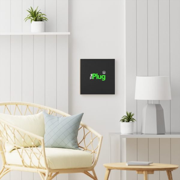 The Plug Wooden Canvas