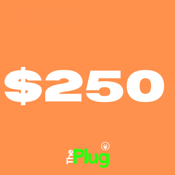 $250 Plug Credits